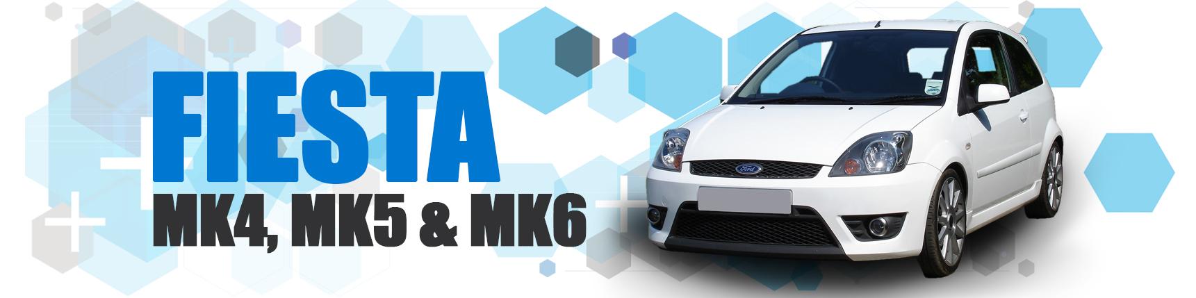 Fiesta Mk4/5 and Mk6 incl. Zetec-S & ST150
