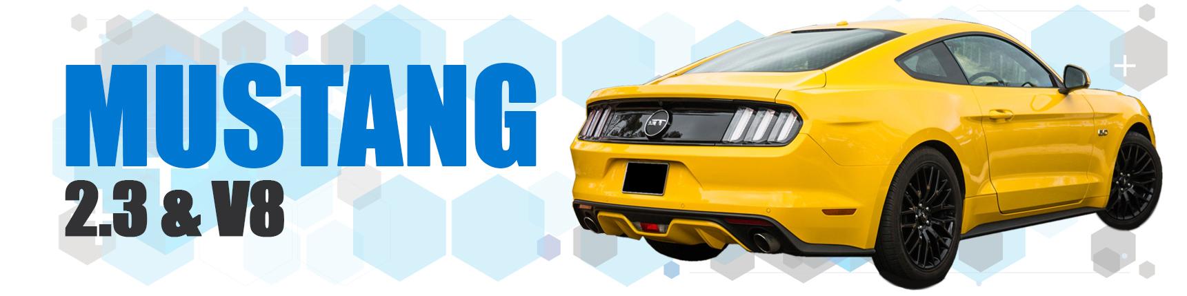 Mustang 2015 2.3 EcoBoost & V8
