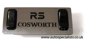 3DR /& SAPPHIRE COSWORTH stainless mirror finish fuel tank strap replacement